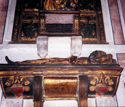 Roma, tomba di Innocenzo VIII in San Pietro
