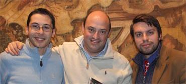 Da sx Somma, Frattini e Moriccioni