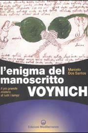 """Copertina del libro """"L'enigma del manoscritto Voynich"""""""