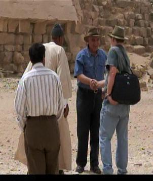 Mehler ed Hakim incontrano Zahi Hawass
