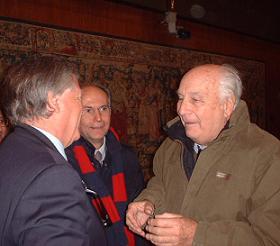 Ruggero Marino e Folco Quilici