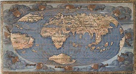 Il planisfero di Francesco Rosselli del 1507