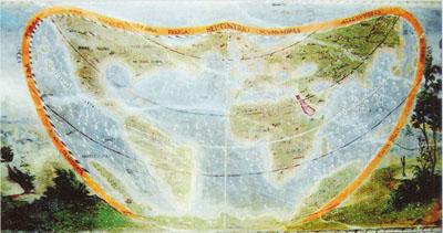 La mappa di Palazzo Besta a Teglio