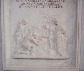 La tomba di Poussin a Roma