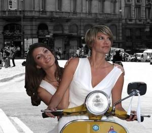 Foto Sarah e Lavinia